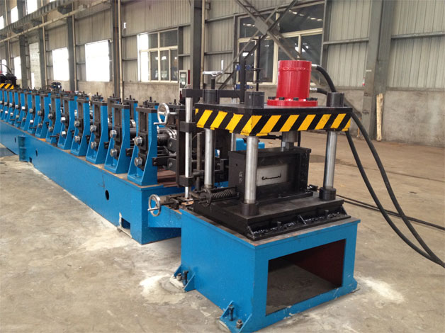 Cable Ladder C Purlin Roll Forming Machine