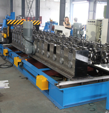 Cable Tray Cover C Purlin Roll Forming Machine