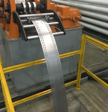 Fire Control Cabinet C Purlin Roll Forming Machine