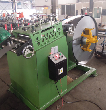 Galvainzed Steel Electric Cabinet C Purlin Roll Forming Machine