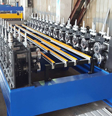 Galvanized Steel False Celings C Purlin Roll Forming Machine