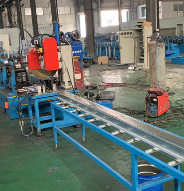 Shelf Panel Metal Angle Roll Forming Machine