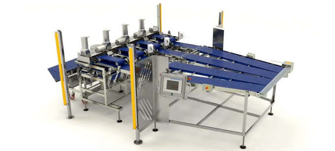 Packing And Automatic Stacking